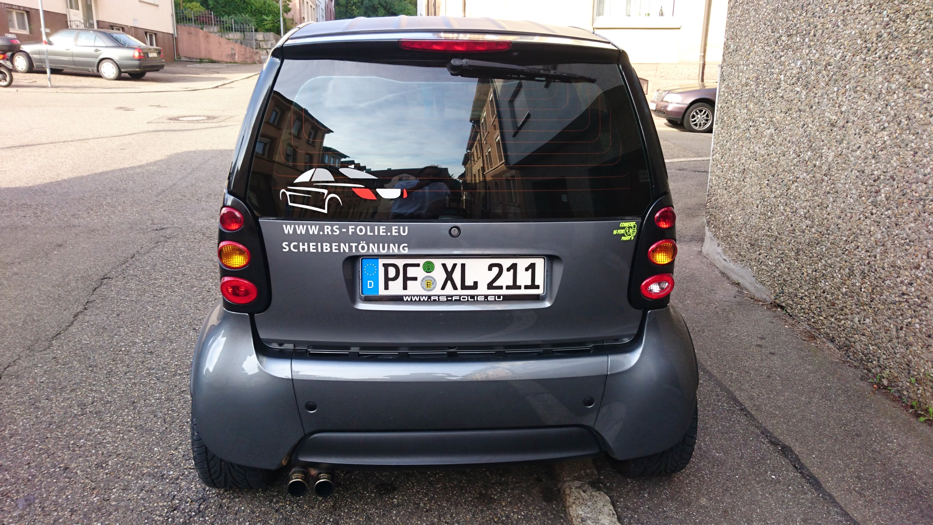 Smart Brabus 0,7  Fortwo Brabus mit CD-Player