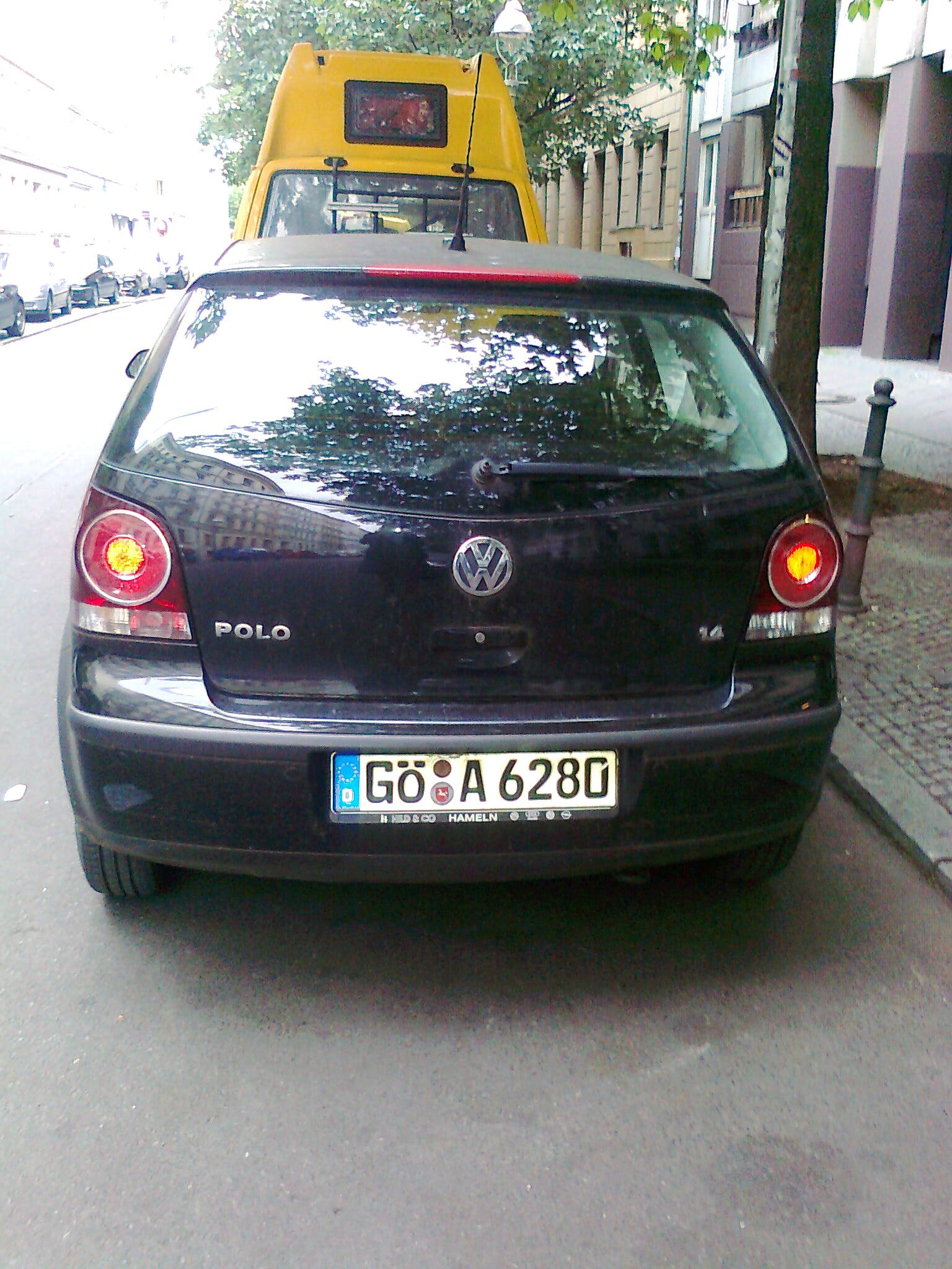 VW POLO mit CD-Player