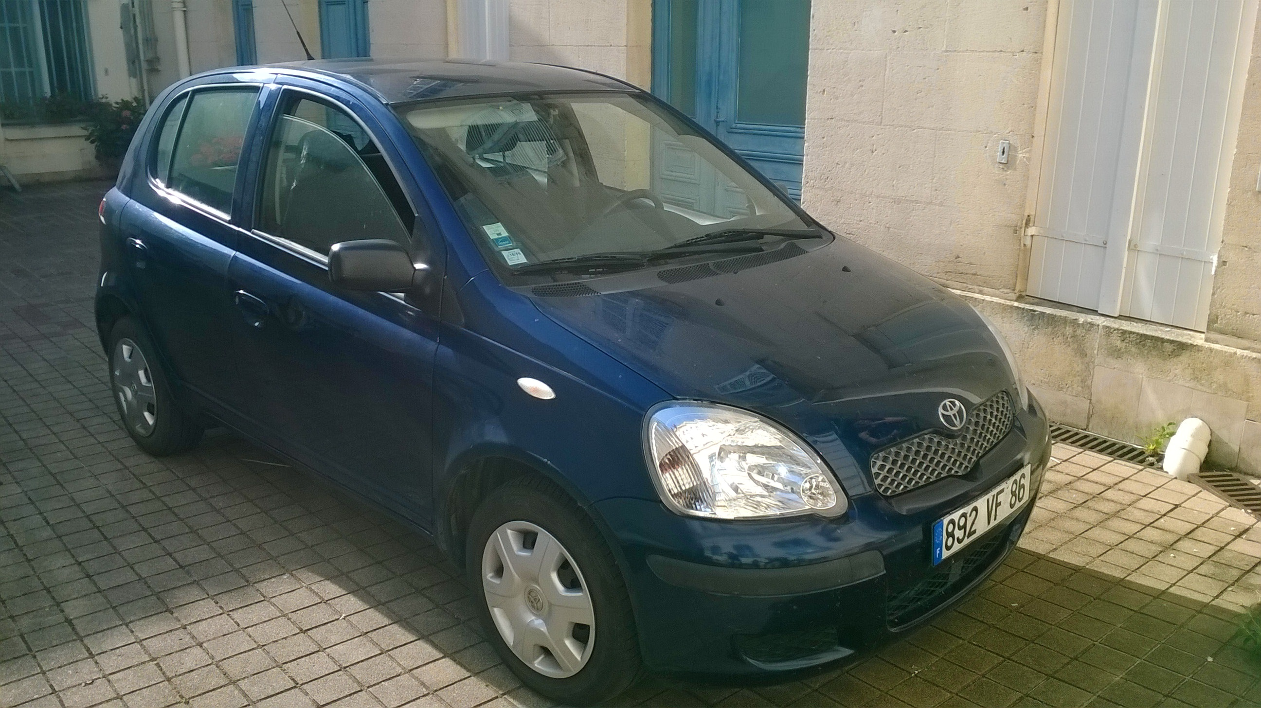 Toyota Yaris 1.0 68CV, 2004, Essence
