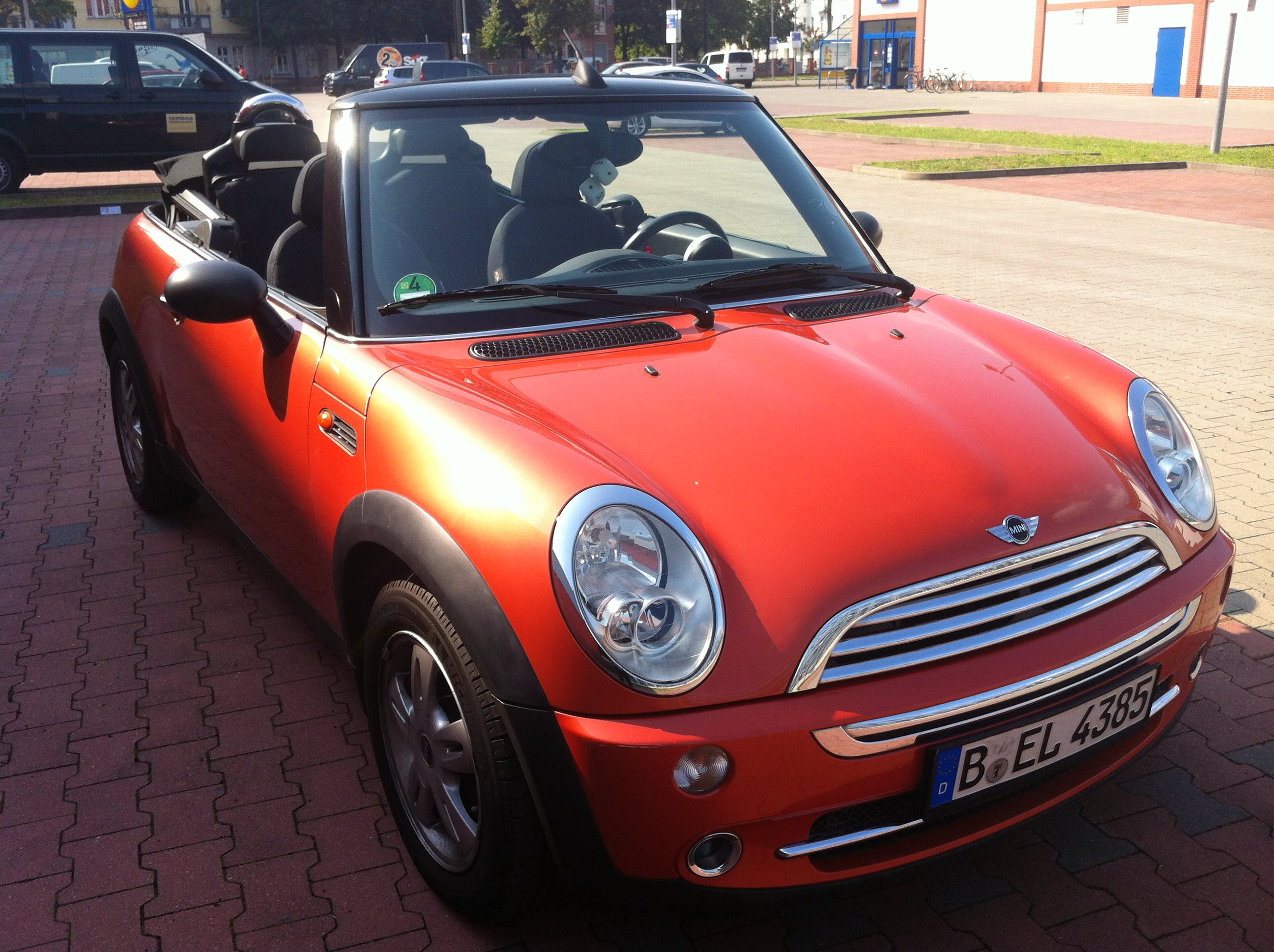 Mini Cabrio mit CD-Player