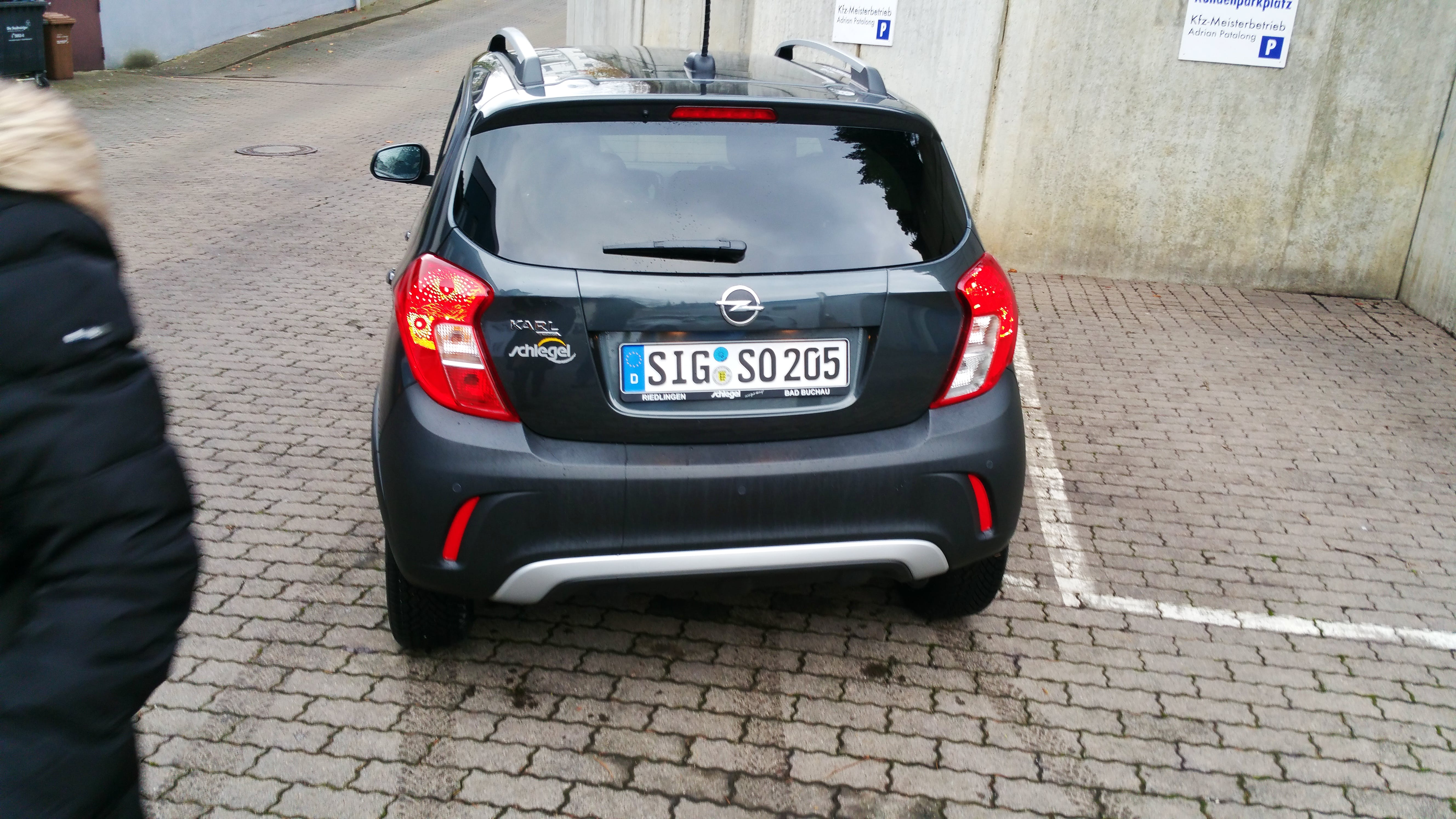 Opel Karl Rocks Automatic 75 Ps Kassel mit Tempomat